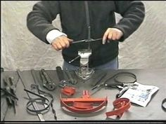 How to twist flat steel bar using simple tools. To further personalise your ironwork.