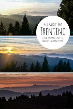 Das Trentino kennen die meisten entweder als Wintersportdestination oder als Sommerausflugsziel vom Gardasee aus. Wer die norditalienische Provinz besuchen möchte, sollte aber am besten im Herbst kommen: Dann ist es immer noch warm, aber längst nicht so voll wie im Sommer und Winter. Mountains, Nature, Travel, Europe, Lake Garda, Summer Vacations, Holiday Destinations, Road Trip Destinations, Naturaleza