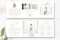 Photography Template Trifold Pricing Guide Design, Photographer Pricing Brochure
