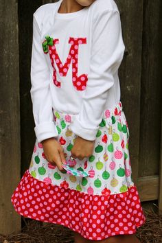 Girls Christmas Outfit-