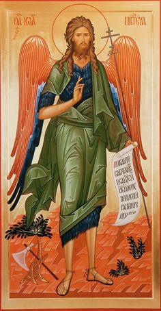 St. John the Baptist (winged)