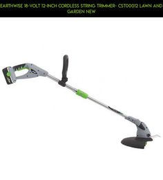 Earthwise 18-Volt 12-Inch Cordless String Trimmer- CST00012 Lawn and Garden NEW #gadgets #kit #garden #technology #drone #lawn #shopping #fpv #trimmers #and #products #racing #tech #parts #plans #camera
