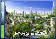 París, 2050: ¿la ciudad inteligente del futuro que devora la contaminación? | The Creators Project