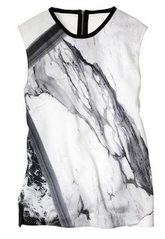 This #HelmutLang shell top is worth the investment. Classic enough for layers, but #edgy enough to stand alone, you'll wear it all year #fashion