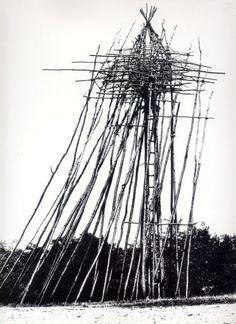 Nils-Udo. Turn of Rain, 1983  [source]