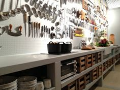 Kitchen as workroom. Das Haus, designed by Louise Campbell for imm Cologne. Image Schoener Wohnen.