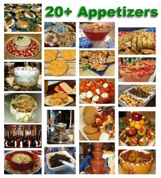 20+ Appetizers for your Cookie Exchange Party
