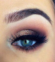 Winter Themed Eye Makeup