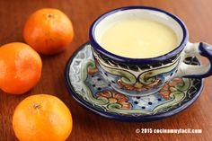 Atole de mandarina. Receta | cocinamuyfacil.com