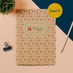 """Livre d'éveil Carnet de Notes A5 """"L'Armoire de Bébé"""" Carnet de Notes A5 """"L'Armoire de Bébé"""""""
