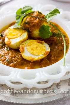 Egg Curry // CoffeeandCrumpets.com