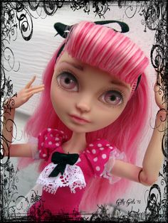 Cupid - Ever After High OOAK repaint - Nude doll by Gilly Gals by GillyGals on Etsy
