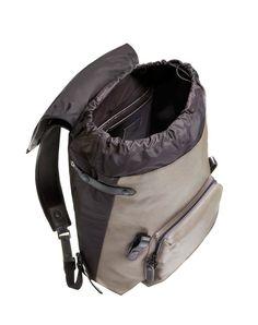 Backpack in natural grain calfskin