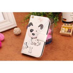 Funda tarjetero diseño perro para Galaxy S3 Mini - Rediseña tu teléfono con el último grito en moda, si te gusta ir a la ultima porque no llevar tu dispositivo chic con esta Funda tarjetero diseño perro para Galaxy S3 Mini