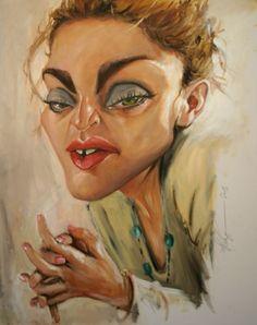 Madonna Artist: Derren Brown