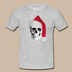 Skull (santa) - Miesten t-paita