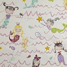 Prestigious Textiles Playtime Mermaid Fabric Collection 5720/266