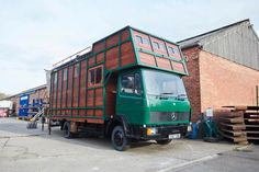 Helga Tiny House Truck Conversion by House Box 001