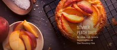 PRESERVE.us - Summer Peach Tarts / Preserve Making Food, Food To Make, Delicious Desserts, Yummy Food, Fruit Dishes, Eat Dessert First, Food N, Canning Recipes, Pears