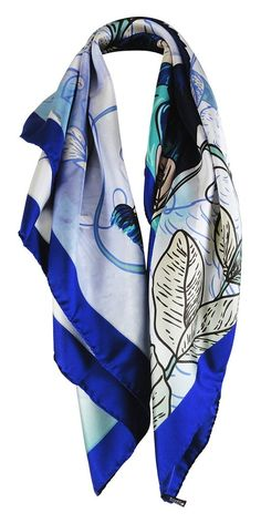 Peacock & Flowers 100% Silk Twill Square Scarf with a hand rolled hem hand sewn in Italy. www.ennea.us ENNEA's bring fashion from around the world with fusion of modern & traditional style. With so much diversity, something new or different is always on the card. We offer gemstone jewelry and silk scarves. Silk scarves are perfect for silk scarf outfits and silk scarf hair styles! Gemstone jewelry necklaces and gemstone jewelry earrings! #Scarves #OOTD #OOTN #SilkScarf #Handmade #Italian