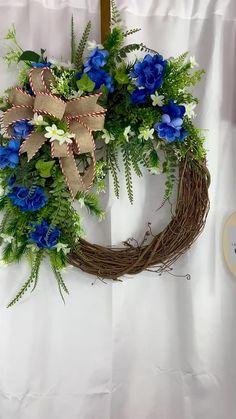 Rustic Wreaths, Beach Wreaths, Country Wreaths, Spring Wreaths, Summer Wreath, Holiday Wreaths, Wreaths For Front Door, Door Wreaths, Grapevine Wreath
