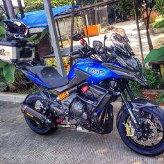 """photo: """"Short touring With mra Enduro, Scrambler, Cbr, Bike Trails, Biking, Kawasaki Cafe Racer, Bmw Motorbikes, Er6n, Versys 650"""