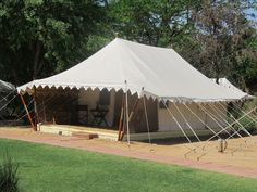Tent Exterior, Sher Bagh