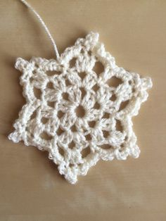 We are so excited to share with you an exclusive Snowflake Crochet Pattern by Bella Coco, written to support the Home Start Snowflake appeal. The pattern is suitable for any level of crocheter, including beginners (watch the video of Kirstie Allsopp giving it a go!). Grab any DK yarn and some sequins, buttons and beads to make a beautiful unique snowflake just in time for Christmas! Once you have made your snowflake, don't forget to donate it to a Home-Start family - find out how here