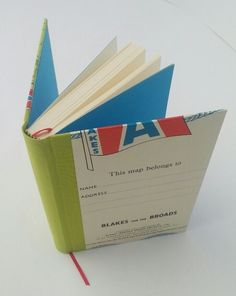 Keep a record of your holiday in this lovely journal. It measures x 17 cm, is thick, and has approximately 96 sides of cream wove paper. Plain bright blue endpapers, and a red page marker ribbon match the colours of the recycled m. Red Pages, Norfolk Broads, Page Marker, Wax, Recycling, Colours, Journal, Paper, Holiday