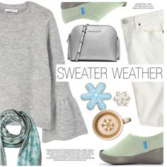 Sweater Weather by regettacanoe on Polyvore featuring polyvore, fashion, style, MANGO, J.Crew, MICHAEL Michael Kors, Mila Schön, xO Design, clothing and polyvoreeditorial