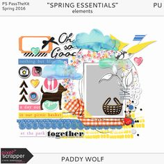 Paddy Wolf: Spring Essentials- Picnic