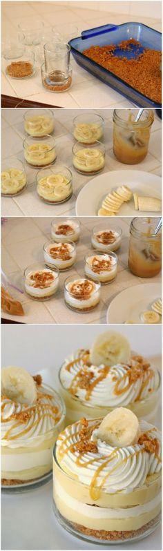 Banana Caramel Cream Dessert.... or this but banana pudding!