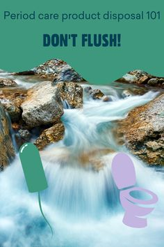Why not flush your tampons and pads? Well, it's bad for the environment (and the plumbing), for a start! Yoppie explains how to dispose of things in an eco-friendly way. Free Blog, Understanding Yourself, Plumbing, Period, Eco Friendly, Environment, Wellness
