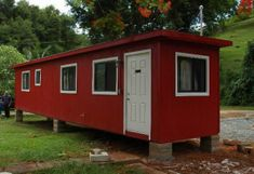 Single Storage Container Home Plans
