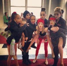 Asia, Kendall, Mackenzie, Nia, Paige, Maddie, Brooke, and Chloe