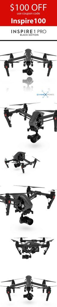 GREAT DEAL! Get it while it lasts. Coupon expires Nov 1st. BUY NOW PAY LATER with finance options as low as 25$ per month. 20% off all accidental crash plans until Christmas. Visit us at https://dynnexdrones.com/ DJI Inspire 1 Pro w/ 4K ZENMUSE X5 Camera - Black Edition Quadcopter – Dynnex Drones