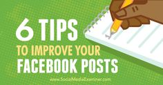 Highlighted tutorials and news from Social Media Examiner about posting road map Facebook Marketing Strategy, Viral Marketing, Social Media Marketing, Internet Marketing, Digital Marketing, Using Facebook For Business, How To Use Facebook, Instagram Advertising, Marketing Techniques