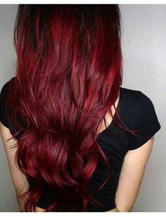 Deep Red Hair, I really pike this red (: