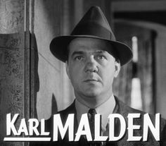 Karl Malden Lt. Mike Stone on the 1970s crime drama, The Streets of San Francisco.