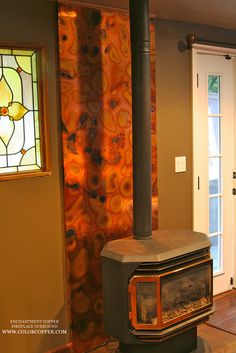 Flamed Copper Fireplace Surround | Flickr   Photo Sharing!