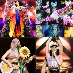 There will be many outfit changes, from hot pink catsuits to butterfly-covered gowns.   14 Things That Happen At A Katy Perry Concert