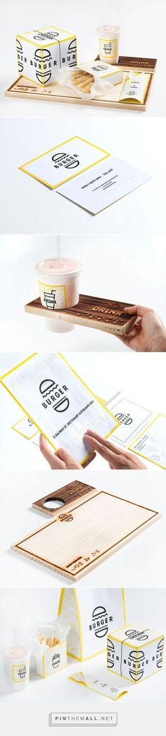 New Zealand's Best Graphic Design. Student Burger Auckland University of Technology. Burger Student Ae Ri Shin curated by Packaging Diva PD. Award winning student packaging design concept.