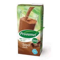 Ρόφημα σόγιας σοκολάτα Προϊόν Βιολογικής Γεωργία Χωρίς γλουτένη Χωρίς Λακτόζη Τα ροφήματα σόγιας Provamel είναι η εναλλακτική πρόταση αντί για γαλακτοκομικά προϊόντα. Μπορείτε να το απολαύσετε ζεστό ή κρύο  , να το χρησιμοποιήσετε στο τσάι ή τον καφέ , στο μαγείρεμα αλλά και στο πρωινό με δημητριακά . Είναι καθαρά φυτικής και είναι πλούσια σε πολυακόρεστα λιπαρά οξέα. Beverages, Drinks, Snack Recipes, Chips, Food, Packaging, History, Drinking, Snack Mix Recipes