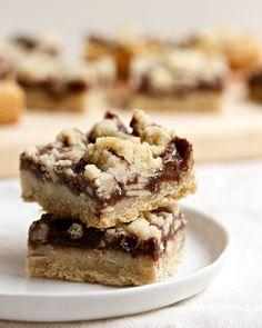 Hot Fudge Crumble Bars   Big Girls Small Kitchen
