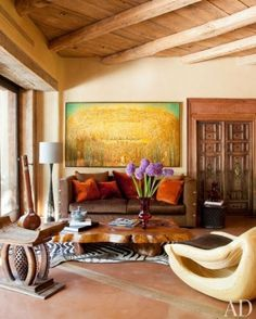 WILL AND JADA PINKETT SMITH AT HOME IN MALIBU