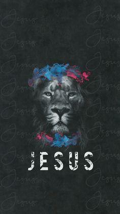 Scripture Wallpaper, Jesus Wallpaper, Lion Wallpaper, Tumblr Wallpaper, Galaxy Wallpaper, Wallpaper Quotes, Jesus Art, God Jesus, Christian Art