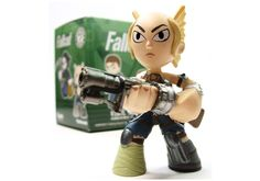 Funko Mystery Minis - Female Raider Fallout - Angel Of Darkness Fallout - Fallout Vinyl Figures - Fallout Bobbleheads - Fallout Pops - Video Game Gifts - Video Game Funny - Fallout 4 Funny