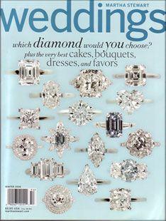 Martha Stewart Weddings-my favorite cover