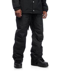 4f71692f07bf Aperture Boomer 10K Black Snowboard Pants