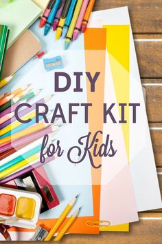 Craft kits are convenient, but the mark-up is crazy! Follow our guide for a budget DIY craft kit that will have your kids creating for hours.